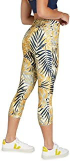 Rockwear Activewear Women's 7/8 Pocket Detail Tight from Size 4-18 for 7/8 Length Bottoms Leggings + Yoga Pants+ Yoga Tights