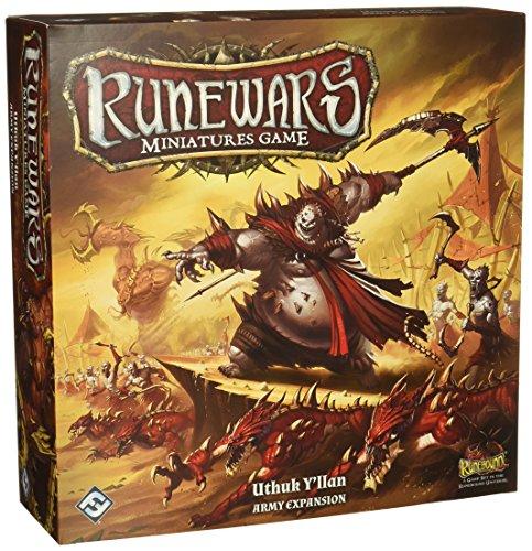 Fantasy Flight Games Runewars Miniatures Game: Uthuk Y'Llan Army Expansion Strategy