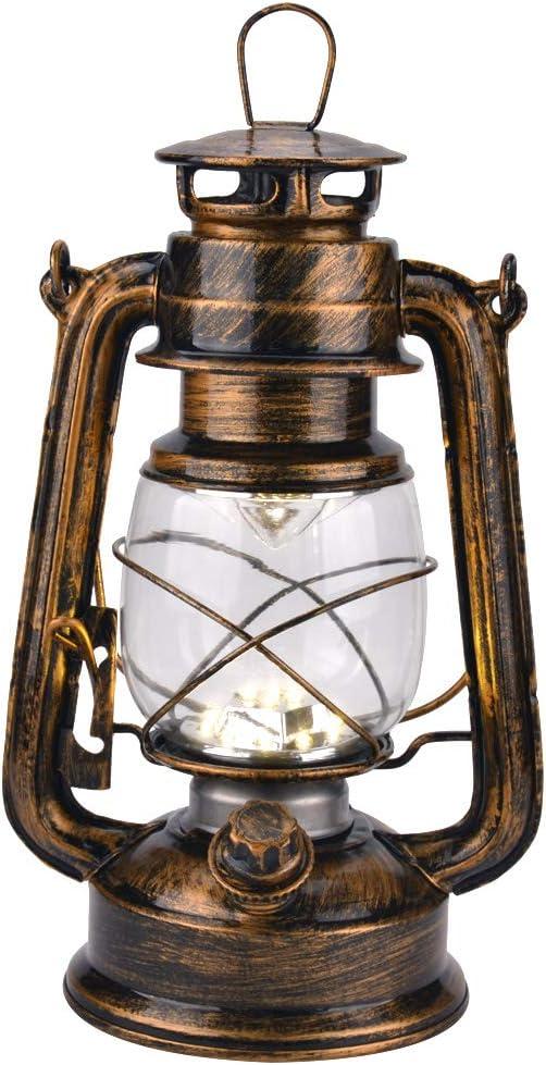 Vintage LED Hurricane Lantern with Dimmer and 15 Wa Elegant LEDs online shop Switch