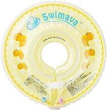 Swimava 【日本正規品60日保証】うきわ首リング ダックイエロー(レギュラーサイズ) 1個 (x 1) SW120DU
