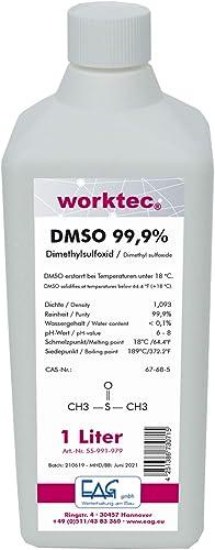 DMSO 1 litre - diméthyl sulfoxyde en bouteille PEHD