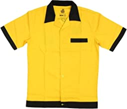 The Big Bang Theory Wesley Crushers Bowling Gold Adult Button Up Costume Shirt