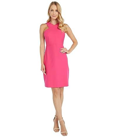 Sam Edelman Stretch Twill Sleeveless (Hot Pink) Women