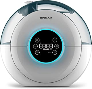 OPOLAR Cool Mist Digital Ultrasonic Humidifier for Baby and Bedroom,4 L/1.05 Gallon, Timer, Preset Humidity, Quiet Operation,Filter-Free, 3 Mist Modes, 12-26 Working Hrs, Sleep and Auto Mode