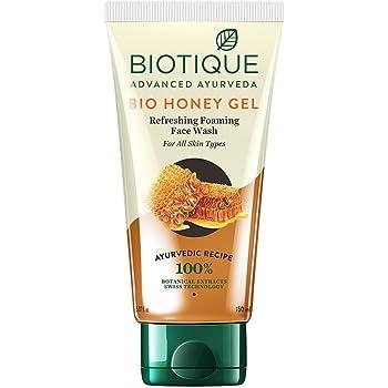 Biotique Bio Honey Gel Refreshing Foaming Face Wash, 150ml