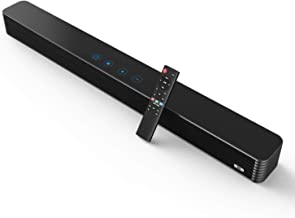 Bestisan Soundbar, 32-Inch 80W Sound Bar with Subwoofer Connection Port, Wired and..