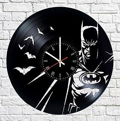 Bruce Wayne Vinyl Record Wall Clock Living Room Home Decor