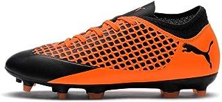 Future 2.4 FG/AG Kids Football Boot Uprising Black/Orange - UK 2