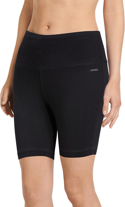 Max 72% OFF Jockey Women's Activewear High Rise Free Shipping Cheap Bargain Gift Stretch 10 Bike Short Cotton
