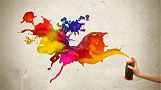 YKJPD Puzzle per Adulti in Legno 1000 Pezzi Colori Spray Home Art Deco Game Educational