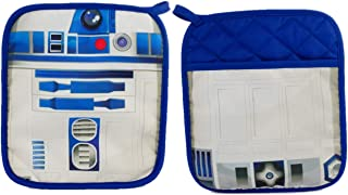 Star Wars R2-D2 Pot Holder Heat Resistant Coaster Potholder for Cooking and Baking (1 Pot Holder)
