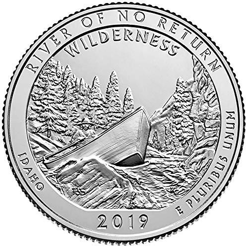 2019 S Bankroll of 40 – Frank Church River of No Return Wilderness, ID Quarter Uncirculated