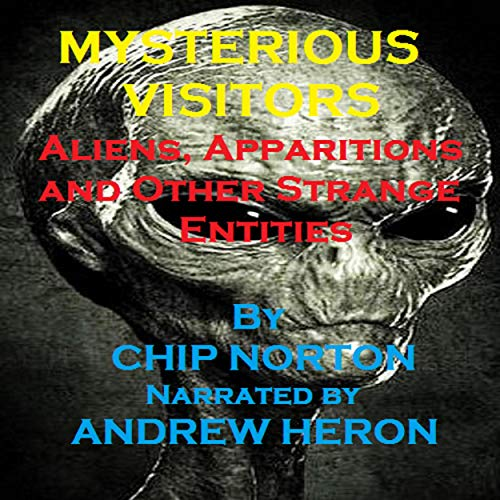 Mysterious Visitors: Aliens, Apparitions and Other Strange Entities audiobook cover art