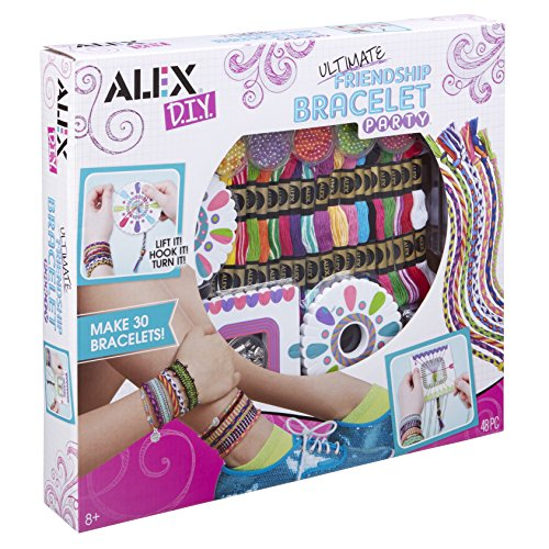 Alex- Ultimate Friendship Kit de Pulseras de la Amistad, Multicolor (137X)