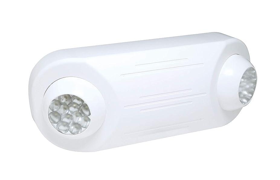 リズム伝導コミットメントEmergency Light - LED Lamp Heads - 90 Min. Operation - 120/277V - Fulham FHEM12-W by Fulham