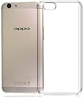 OPPO F3 (A77) TPU Silicone Clear Case Back Cover By Muzz