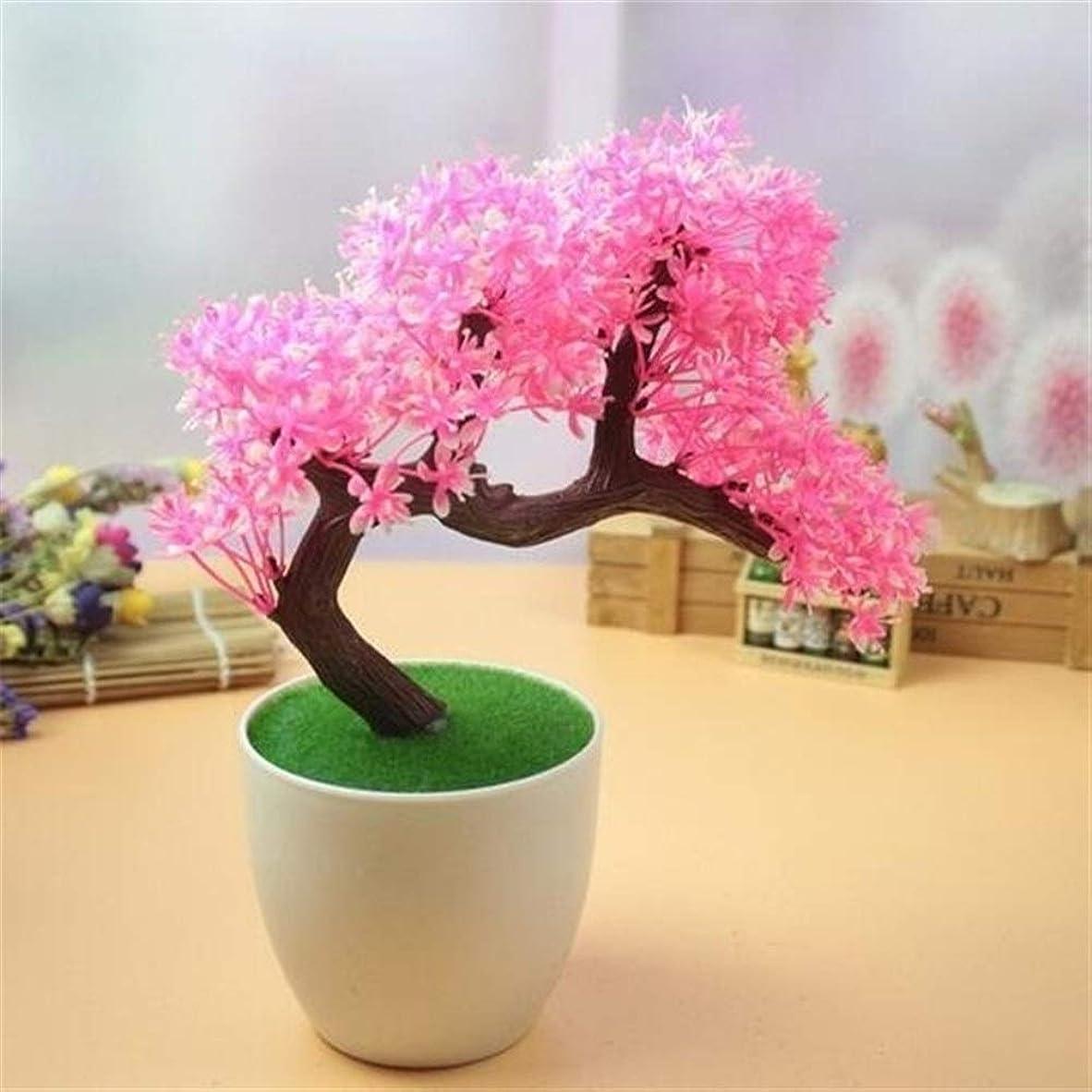裕福な秘密の考え装飾植物鉢植え植物人工シミュレーション花リビングルーム窓装飾花 (Color : Dark Gray)