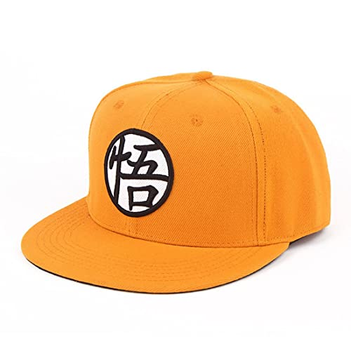 buy online c803e 79062 ComicSense.xyz Dragonball Z Son Goku Snapback Unisex Cap (Orange Free  Size,Dragonball Son Goku S)