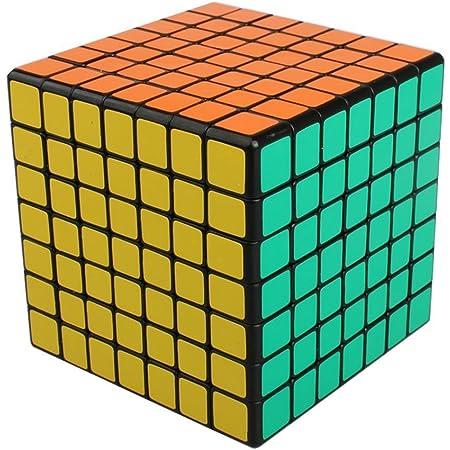 ノーブランド品 立体パズルルービックキューブセット7X7X7 七階一個立体回転キューブ キューブ型パズル黒素体 (7x7x7七階)