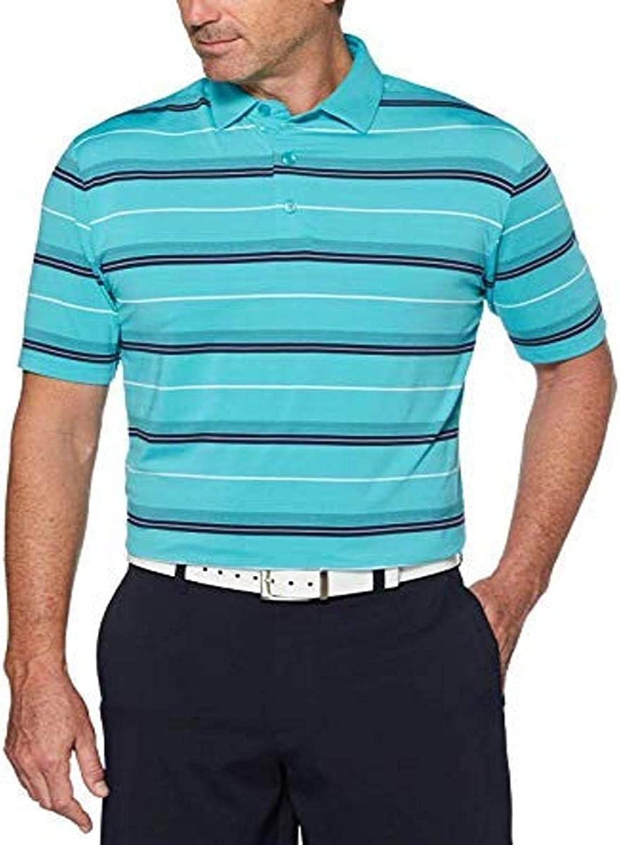 Callaway Men's Performance Short SALENEW Excellence very popular Sleeve Shir Print Polo Over All