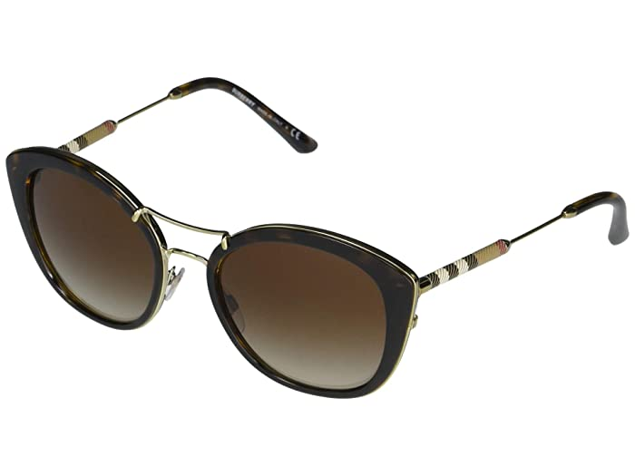 Burberry  0BE4251Q (Dark Havana/Brown Gradient) Fashion Sunglasses