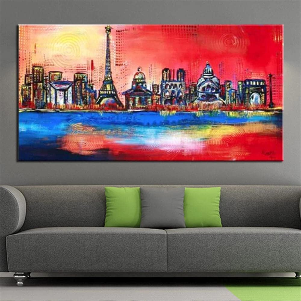 Diamond Art Kits Cash special price Painting 5d Abstract Paint City Latest item