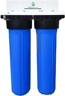 EcoPlus XL Système de filtration de l'eau de la maison entière et adoucisseur d'eau sans sel, efficacité éprouvée de 99,6%