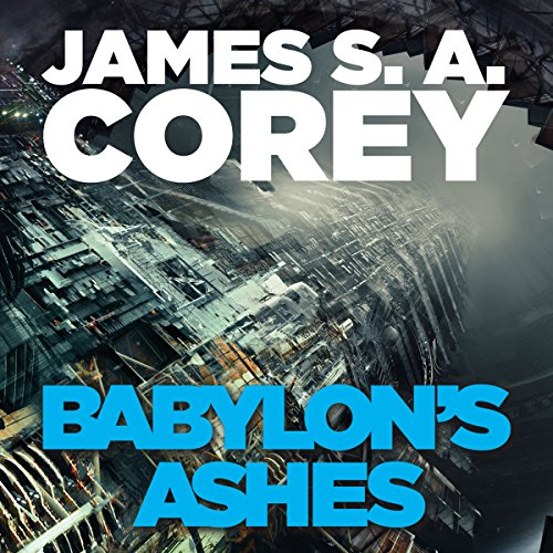 Babylon's Ashes audiobook cover art