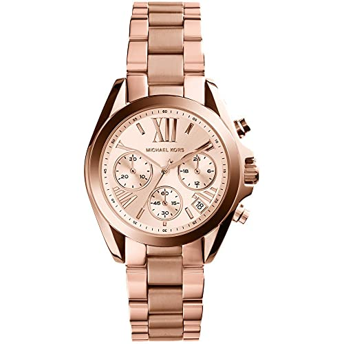 caa0aa919b0c マイケルコース 腕時計 Chronograph Rose Dial Rose Ladies BRADSHAW MK5799 レディース [並行輸入品]