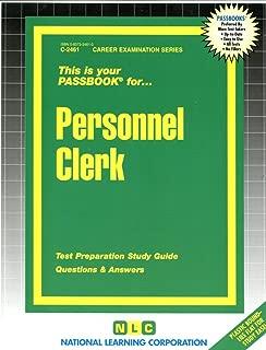 Personnel Clerk(Passbooks) (Career Examination Passbooks)