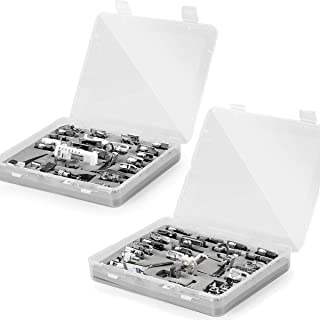 52 Pcs Sewing Machine Presser Feet for Brother Singer Viking White Janome etc Low Shank Sewing Machine