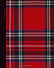 Writing Journal: Lined Paper Notebook for Creative Writers or Personal Use (A large SOFTBACK with a PRINTED IMAGE of tartan from our Plaid in Red range) (Notebooks and Journals)