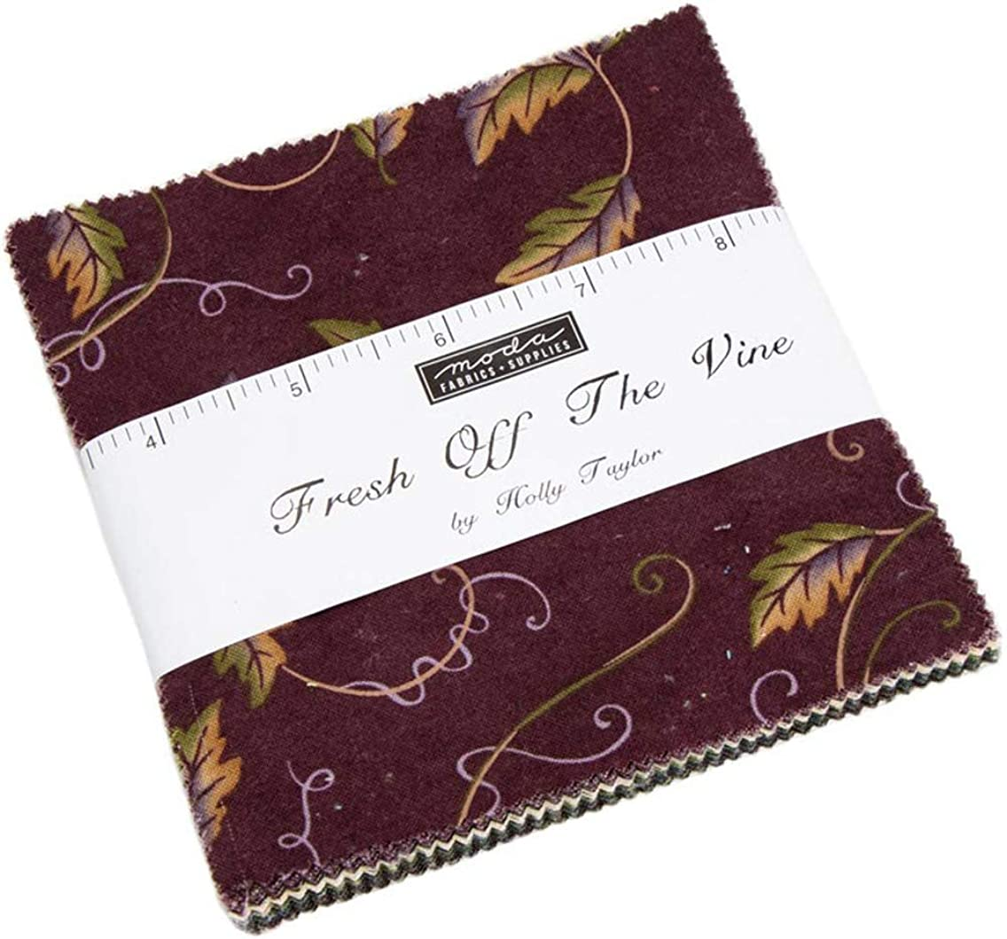 Fresh Off The Vine Charm Pack by Holly Taylor; 42-5