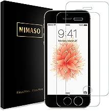 【2枚セット】Nimaso iPhoneSE / iPhone5s / iPhone5 / iPhone5c用 強化ガラス液晶保護フィルム 【日本製素材旭硝子製】全面保護/3D Touch対応/業界最高硬度9H/高透過率( iPhone SE / 5s / 5 / 5c , 2枚セット )