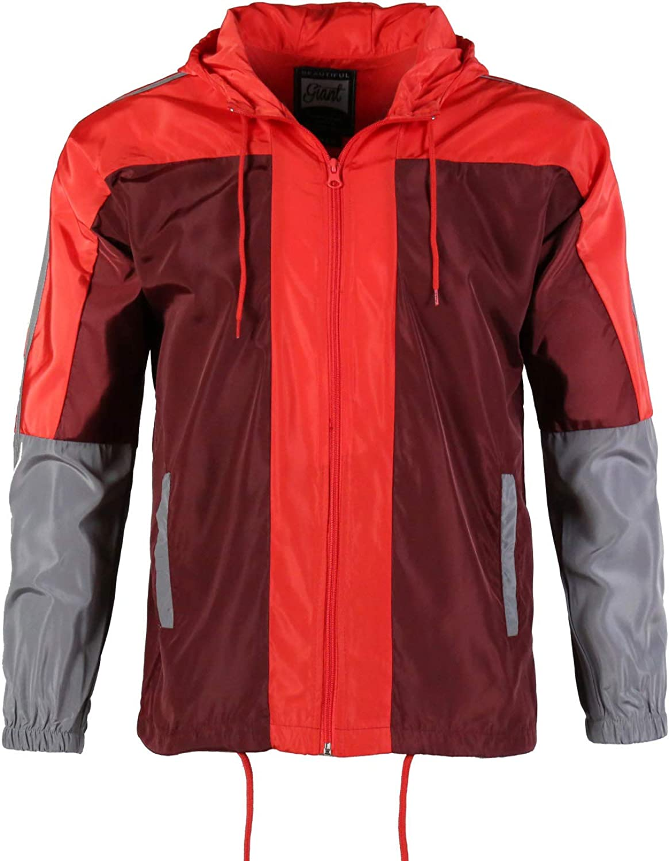Men's Windproof Jacket Silm fit long sleeve Performance Street Comfort Trenchcoat