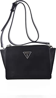 Guess Womens Cross-Body Handbag, Black - UE766469