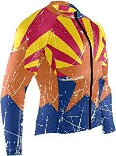 Cycling Jersey Men Long Sleeve Tops Bike Shirts Bicycle Clothes Jacket