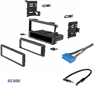 ASC Car Stereo Dash Kit, Wire Harness, Antenna Adapter for some Buick 97-03 Century,95-1999 LeSabre, 1995-2004 Park Avenue, 1995-2003 Regal, 1996-1999 Riviera, 1995-1996 Roadmaster, 1996-1998 Skylark