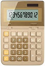 $71 » Z-Color Multi-Function Calculator New Solar Calculator Color Business Office Dual Energy 12-Bit Large Screen Display Plast...
