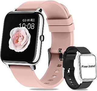 Smartwatch Pulsera Inteligente,Salandens Reloj Deportivo Pan