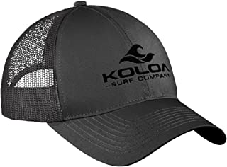 Koloa Surf Wave Logo Old School Curved Bill Mesh Snapback Hats
