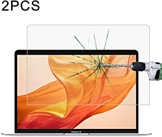 Good 2 PCS 0.26mm 9H Surface Hardness Explosion-proof Tempered Glass Film for MacBook Air 13.3 (2018) Dualn