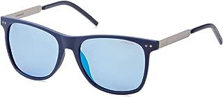 Polaroid Sunglasses For Men, Blue PLD 1028/S RCT 555X 55 mm