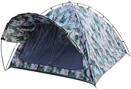 BJYG Tente de Camping Tente d'auvent Avant de Camouflage numérique Double Tente de Camping en Plein air