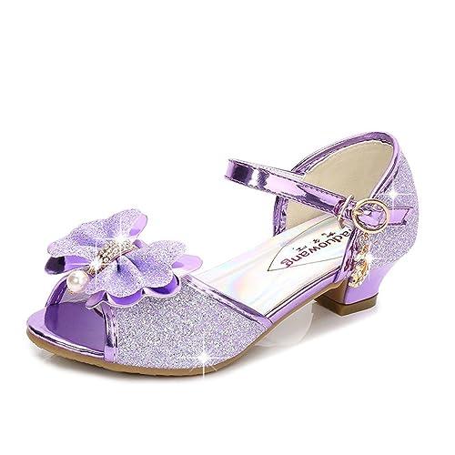 9ed9a7338cda Osinnme Toddler Little Big Kid Girls Wedding Sandals