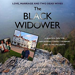 The Black Widower audiobook cover art
