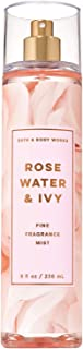 Bath & Body Works ROSE WATER & IVY Fine Fragrance Mist 8 fl Oz