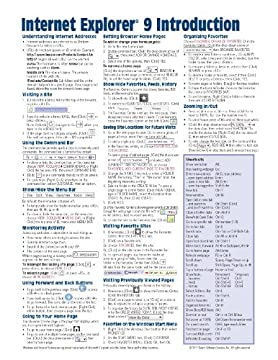 Internet Explorer 9 Quick Reference Card