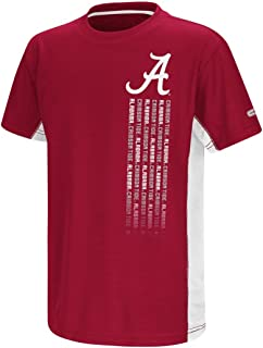 Colosseum Alabama Crimson Tide NCAA Power Set Youth Short Sleeve Performance T-Shirt