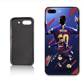 Sycase Messi Custom Phone Case for iPhone 7 Plus iPhone 8 Plus Case,PC Material Hard Case Never Fade